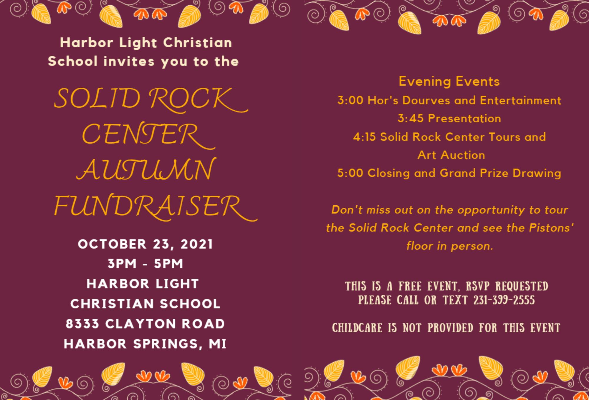 SRC Autumn Fundraiser 1